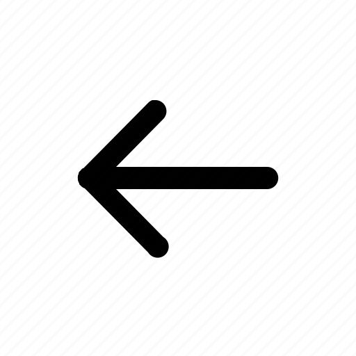 arrow, cursor, dart, direction, left, missile icon