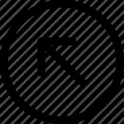 arrow, cursor, dart, direction, missile, up icon
