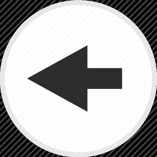 arrow, arrows, back, left, nav icon