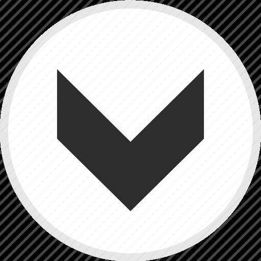 arrow, arrows, down, download, nav icon