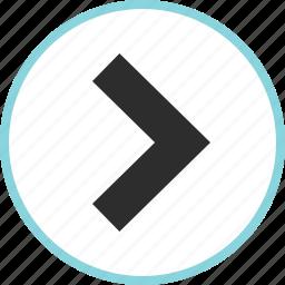 arrow, arrows, forward, nav, point, right icon