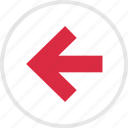 arrow, arrows, left, nav icon