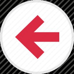arrow, arrows, left, nav icon
