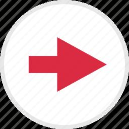 arrow, arrows, nav, right icon