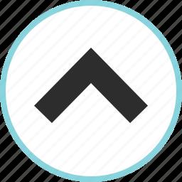 arrow, arrows, nav, up, upload icon