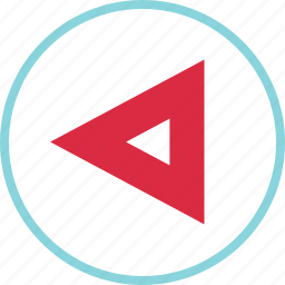 arrow, arrows, left, nav, point icon