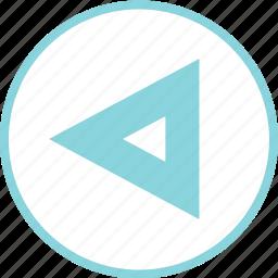 arrow, arrows, back, nav, rewind icon