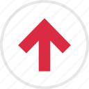 arrow, arrows, nav, up icon
