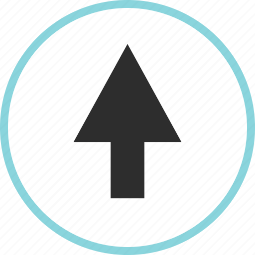 arrow, arrows, nav, point, up, upload icon