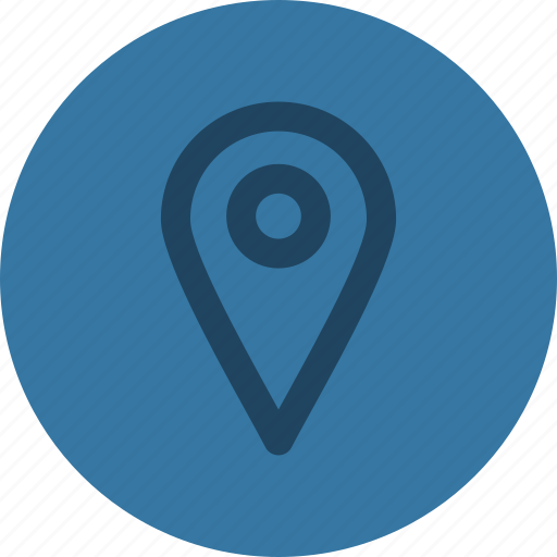direction, location, pin, place icon