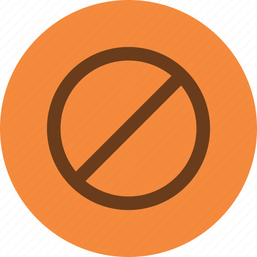 denied, stop icon