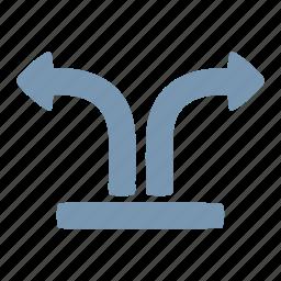 arrow, separate icon