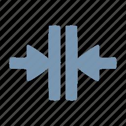 arrow, close icon