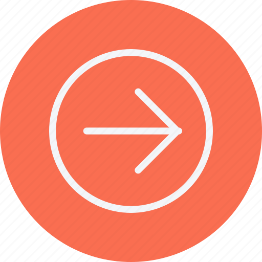 arrow, arrows, direction, navigation, right, sign icon