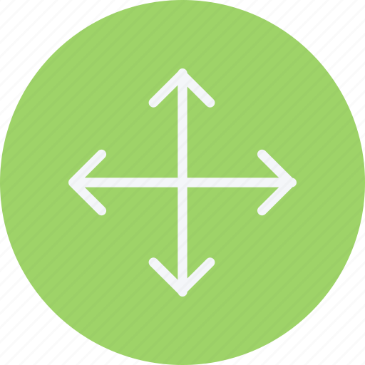 arrow, arrows, crossroads, direction, navigation, pointer, sign icon