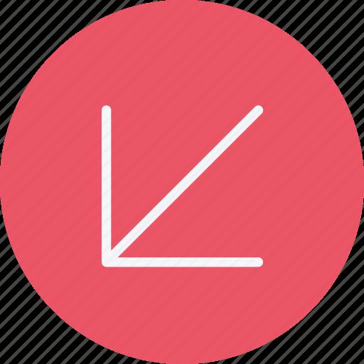 arrow, arrows, diagonal, direction, navigation, sign icon