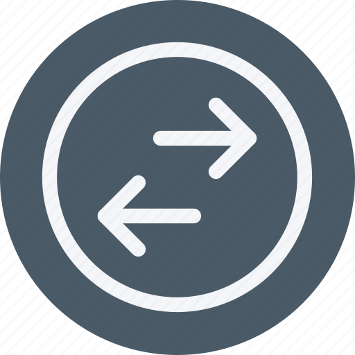 Exchange, arrow, arrows, direction, navigation, sign icon - Download on Iconfinder