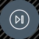 arrow, arrows, direction, forward, navigation, sign icon