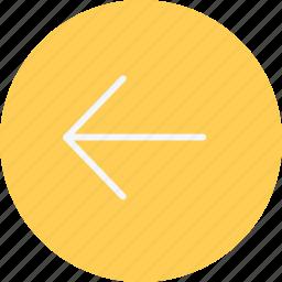 arrow, arrows, direction, left, navigation, sign icon