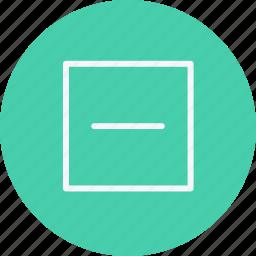 arrow, arrows, direction, minus, navigation, pointer, sign icon