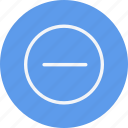 arrow, arrows, direction, minus, navigation, sign icon