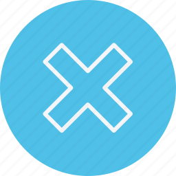 arrow, arrows, cancel, direction, multiply, navigation, sign icon