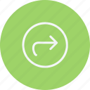 arrow, arrows, direction, navigation, next, pointer, sign icon