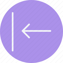 arrow, arrows, direction, left, navigation, previous, sign icon