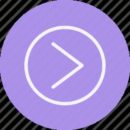 arrow, arrows, chevron, direction, navigation, right, sign icon