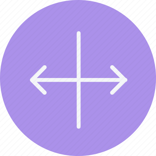 arrow, arrows, direction, navigation, resize, sign, stretch icon