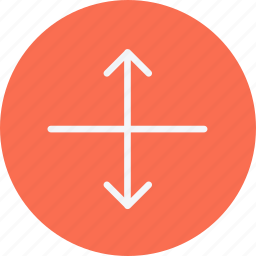 arrow, arrows, direction, navigation, pointer, sign, stretch icon