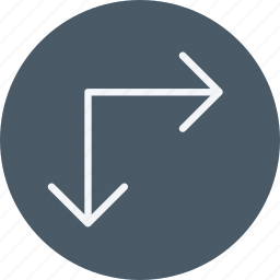 arrow, arrows, direction, enlarge, navigation, sign, stretch icon