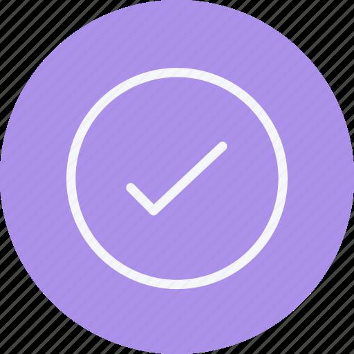 arrow, arrows, check, mark, navigation, sign, tick icon