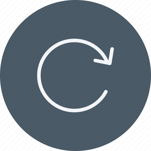 arrow, arrows, move, navigation, pointer, sign, undo icon