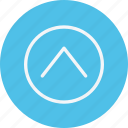 arrow, arrows, chevron, direction, navigation, sign, up icon