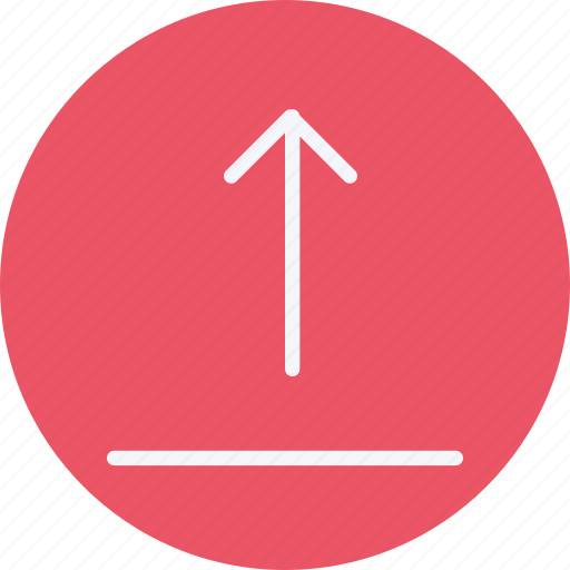 arrow, arrows, direction, navigation, sign, upload icon