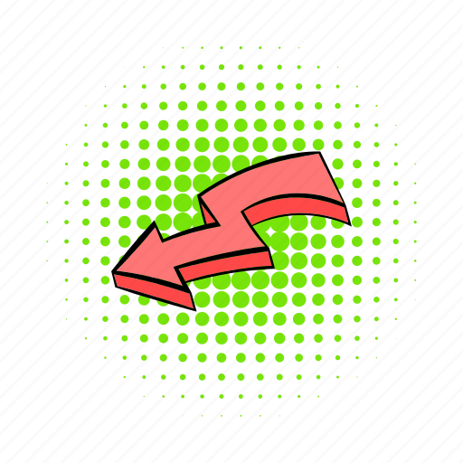 arrow, arrowheads, board, broken, collection, comics, red icon