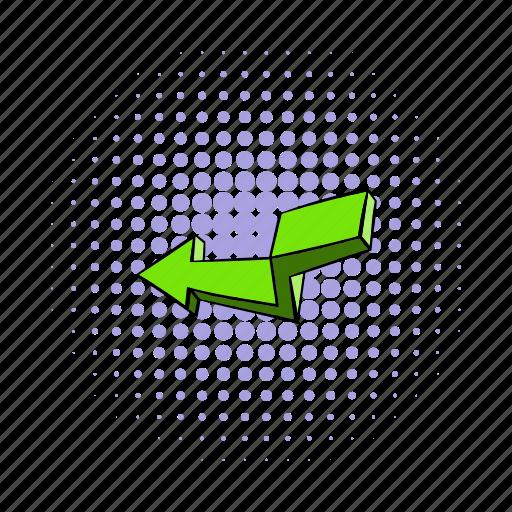 arrow, broken, click, collection, comics, cursor, information icon