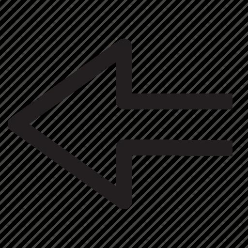 arrows, diagrams, icon, left icon