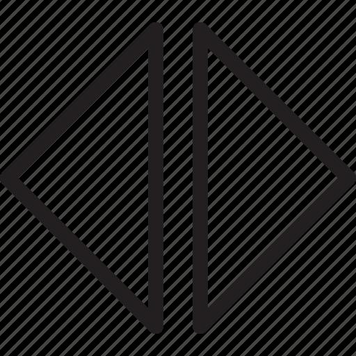 arrow, drag, scroll, scrubber icon