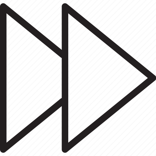 arrow, forward, move forward, next, next step, step forward icon