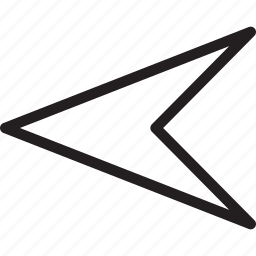 arrow, back, left, nav, navigate, previous icon