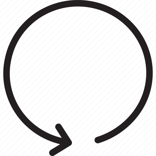 arrow, back, previous, undo icon