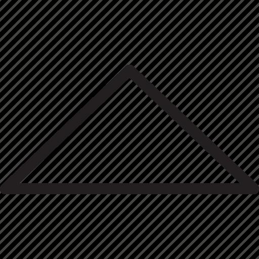 arrow, caret, triangle, up icon