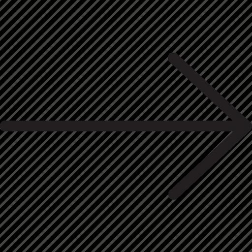 arrow, next, right, right arrow icon