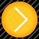 arrow, direction, move, next, right icon