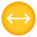 arrow, arrows, direction, horizontal, left, right icon