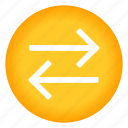arrow, arrows, horizontal, left, next, right icon