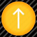 arrow, arrows, direction, top, up icon