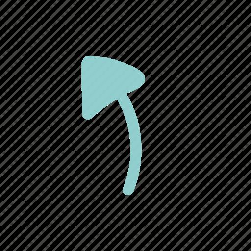 arrows, brush, color, handdwran, memphis, style icon